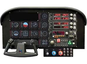harmonize with many other Saitek flight simulation products